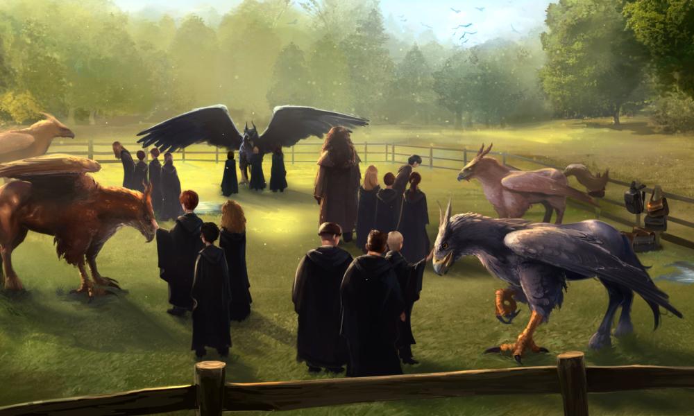 Séria Starostlivosť o Zázračné Tvory: Okrídlené Kone