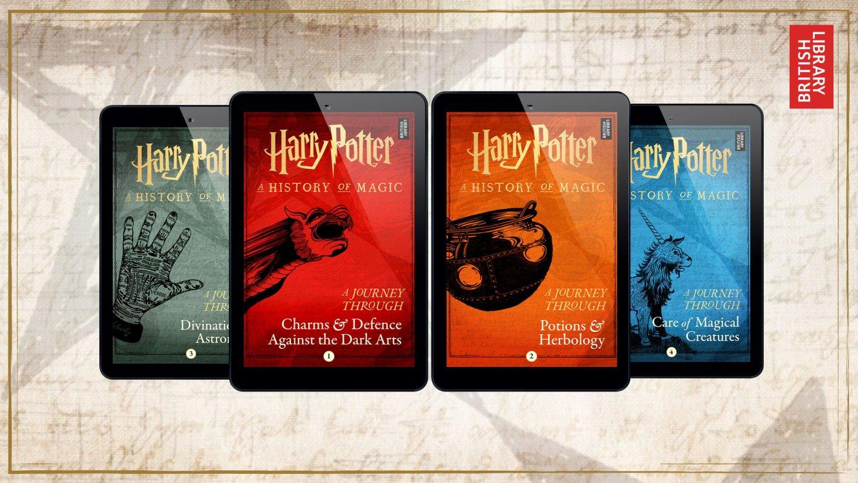 Vydáme se na cestu magií se čtyřmi novými E-booky od Pottermore