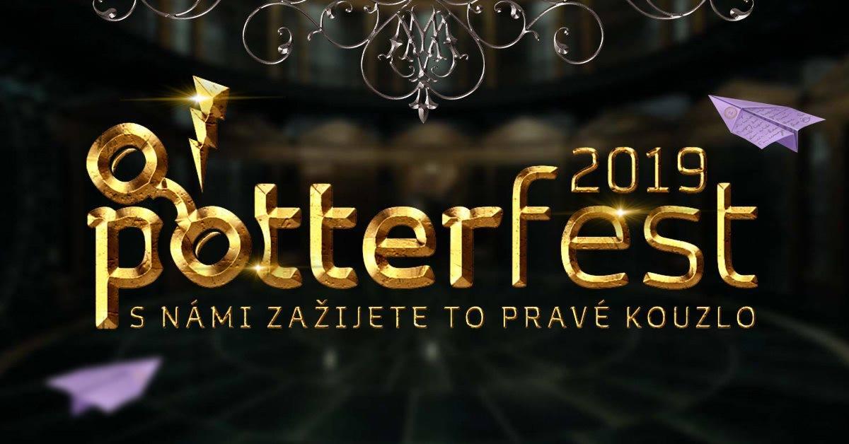 Ťuky ťuk, tady Potterfest 2019!